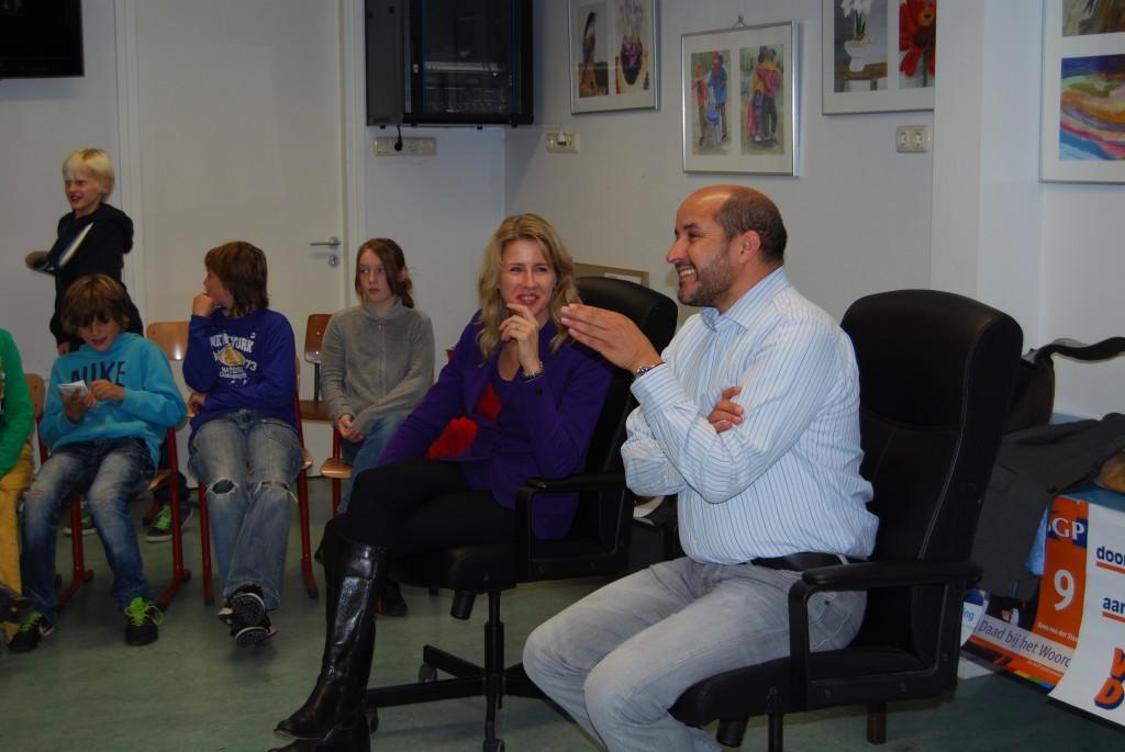 Mona Keijzer en Ahmed Marcouch